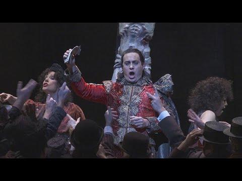 فاوست للمؤلف الفرنسي غونو على مسرح دار الاوبرا الملكية في لندن…  - نشر قبل 3 ساعة