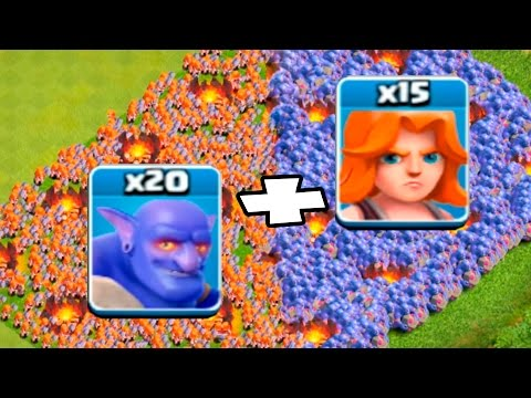 МИНИ ИГРЫ CLASH OF CLANS! ХОГ vs ВЫШИБАЛА vs ВАЛЬКИРИЯ! КТО СИЛЬНЕЕ?