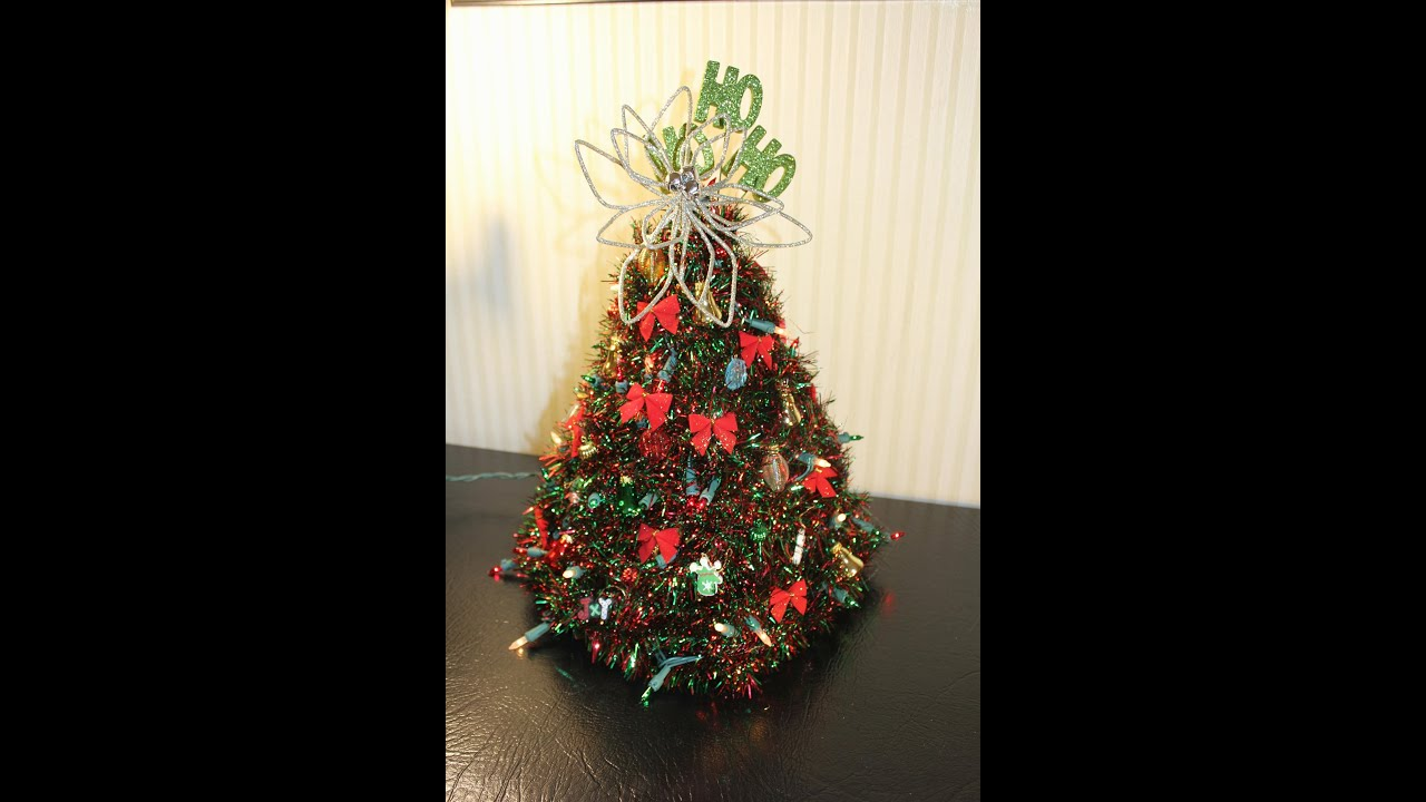 How to make a hanger christmas tree updated version