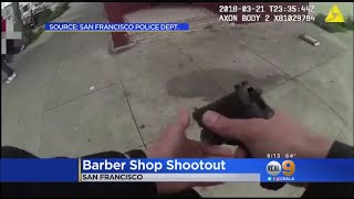 San Francisco Police Release Video Of Deadly Barber Shop Shooting