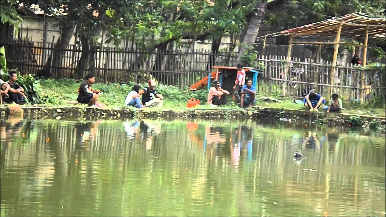 Pemancingan Lafapark Wisata Rekreasi Keluarga Murah Cikarang