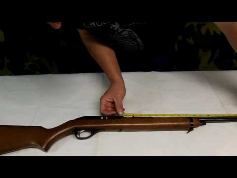 Marlin Glenfield Model 60 takedown from YouTube · Duration:  6 minutes 19 seconds