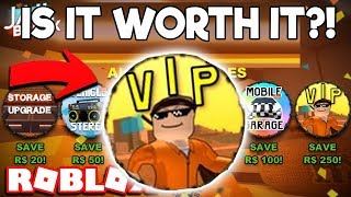 IS THE JAILBREAK VIP GAMEPASS SALE WORTH BUYING? (Roblox Jailbreak)
