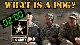 What does POG mean in the military