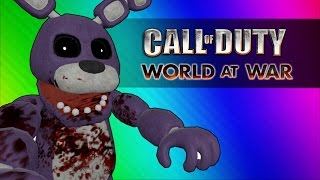 WaW Zombies: Five Nights At Freddy's 4 Map + Most Difficult Map Ever!