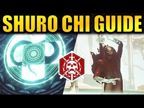 Destiny 2: SHURO CHI GUIDE! - Last Wish Raid | Forsaken