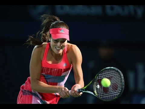 2016 Dubai Duty Free Tennis Championships Second Round | Ana Ivanovic vs Simona Halep |  Highlights