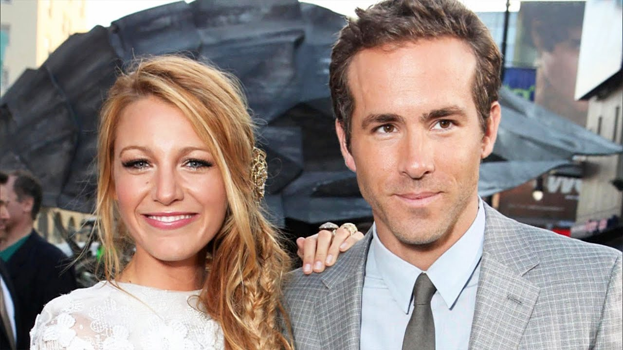 Ryan Reynolds and Blake Lively Got Married on a Plantation