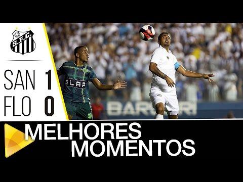 Santos 1 x 0 Floresta-CE | MELHORES MOMENTOS | Copa SP (04/01/17)