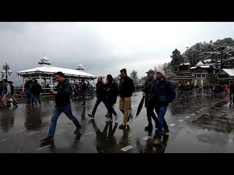 Shimla Snowfall in December, Today Video 2018, Himachal Pradesh