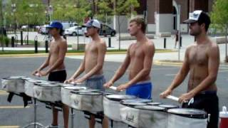 2010 Blue Devils Drumline - Double Beat Exercise