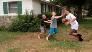 Backyard Football - Hardest Hits & Best Plays