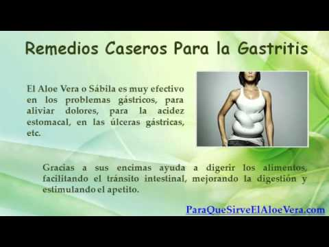 remedios caseros para la gastritis y reflujo gastrico