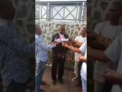 Bar   Ifeanyi ejiofor  reporting on nnamdi kanu Court issue