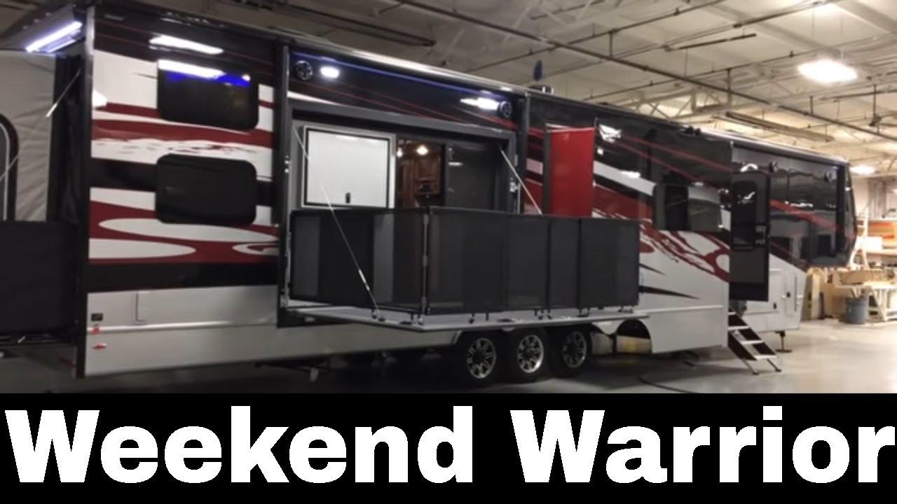 the genuine weekend warrior toy hauler