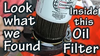 Builder Mistake Creates this Plugged Oil Filter Surprise