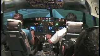 Boeing 737 REAL Flight Simulator Experience - Singapore