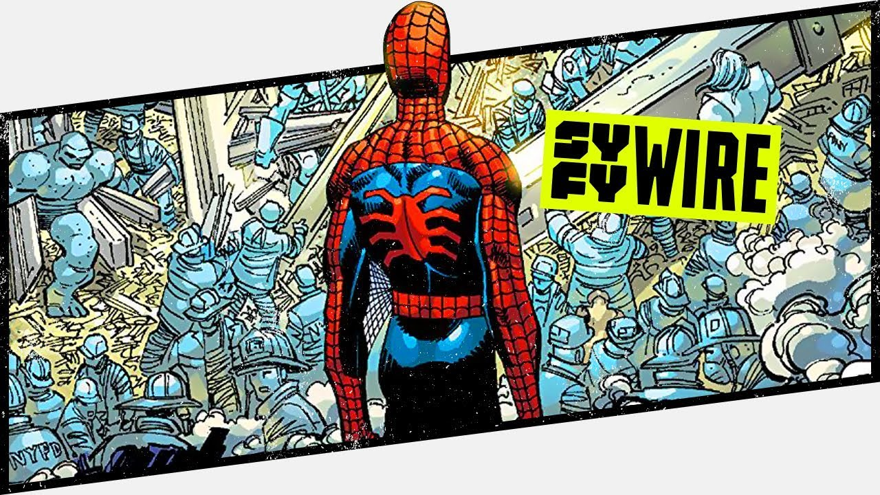 Remembering 9/11 Amazing Spider-Man #36 - Behind The Panel   SYFY WIRE
