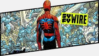 Remembering 9/11 Amazing Spider-Man #36 - Behind The Panel | SYFY WIRE