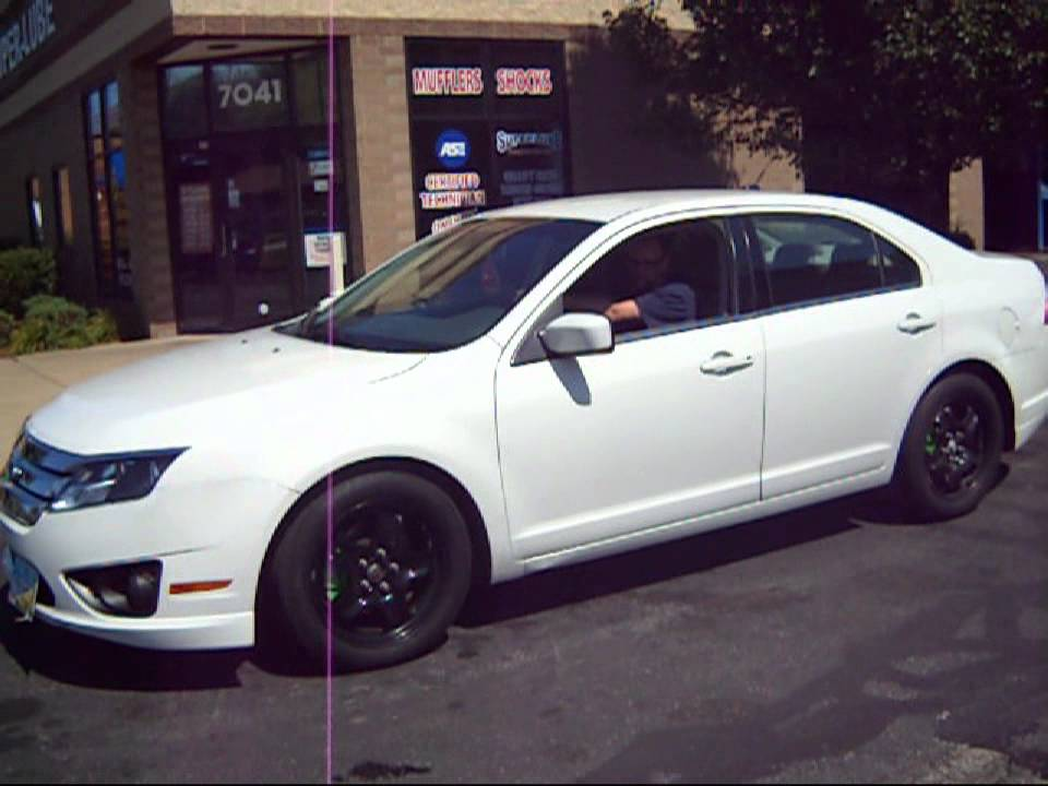 2010 Ford Fusion With Megnaflow Muffler Youtube