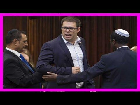 Netanyahu steps in to stop brawl of israeli, jordanian mp