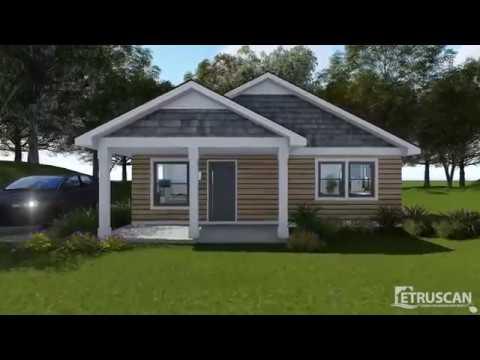 House Plan Virtual Tour - 2 Bedroom House - 1,560 Square Feet