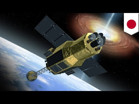 ASTRO-H: Japan space agency's $265 million satellite breaks into pieces - TomoNews