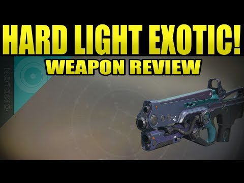 Destiny 2 | HARD LIGHT Exotic Auto Rifle Weapon Review