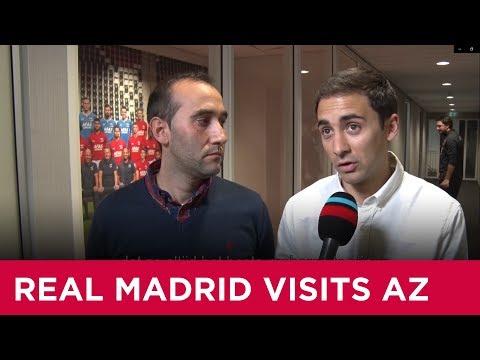 Real Madrid bezoekt AZ | Jeugdopleiding