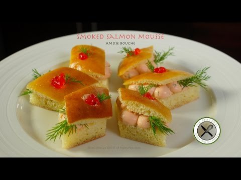 Smoked Salmon Cream Cheese Amuse – Bruno Albouze – THE REAL DEAL