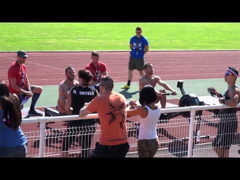 FTD 2014 Wod 4 (350 mt swimming-600 mt running-1000 mt row-400 mt running