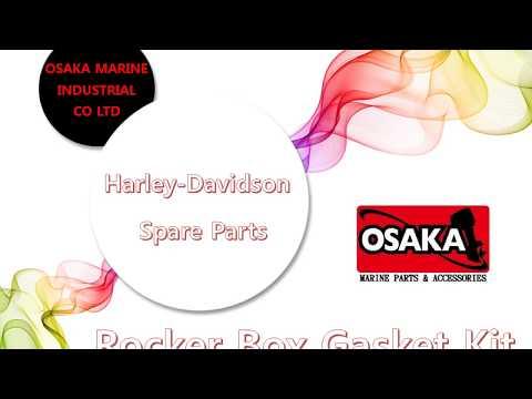OSAKA MARINE, Harley-Davidson Rocker box gasket kit 17033-99 (15-1210), 17042-92 (15-0848)