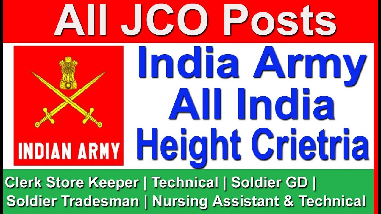 All india height criteria for india army all jco posts gd all india height criteria for india army all jco posts gdtechnicalclerkstore keepertrades man nvjuhfo Images