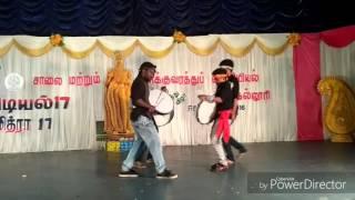kalaikuyil function 2017 band boys thappatam தப ப ட டம irtt college erode