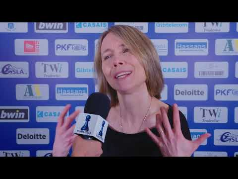 Round 10 Gibraltar Chess post-game interview with Pia Cramling