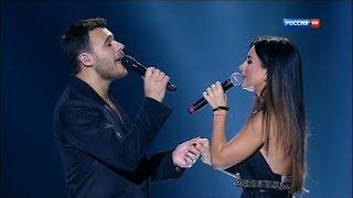 """Ани Лорак и Emin - Зови меня (""""Начистоту"""" концерт EMINа, 04.01.2014, HD)"""