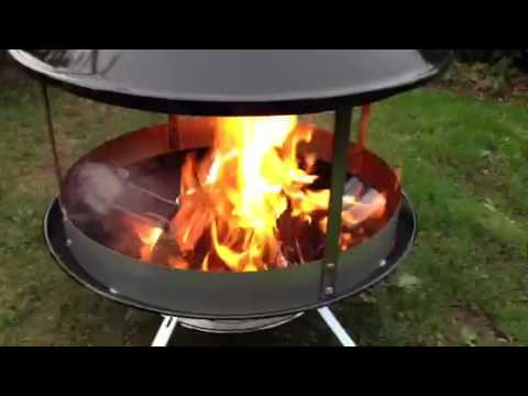 Weber fireplace toll - YouTube