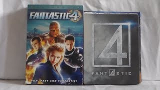 Unboxing Fantastic 4 Movie Collection