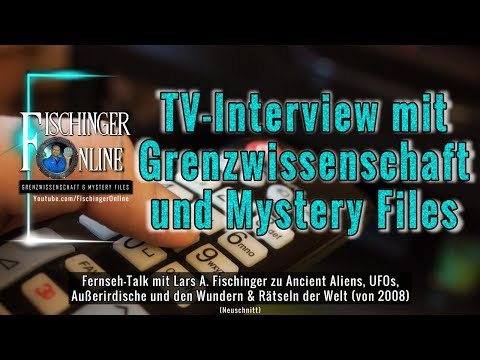 TV-Interview (2008) mit Grenzwissenschaft & Mystery Files: Ancient Aliens, UFOs, Marienerscheinugen
