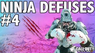 BO3: NINJA DEFUSE MONTAGE! #4 (Ninja Defuses, Funny Moments & Trolling)
