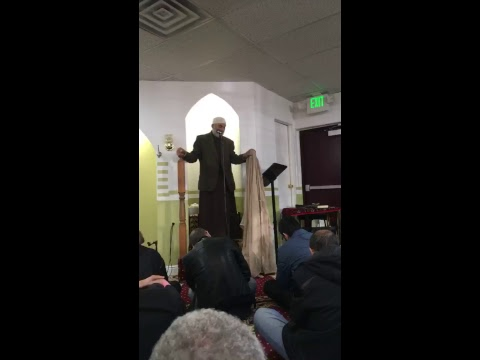 First khutbah at the Denver Islamic Society on 2/16/18