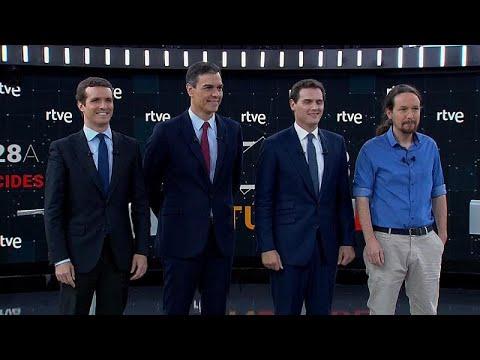إسبانيا: مناظرة لزعماء الأحزاب قبيل الانتخابات وكاتالونيا العنوانُ الأبرز في برامج المرشحين…  - نشر قبل 3 ساعة