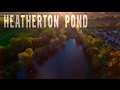 Heatherton Pond in Littleover October 2016