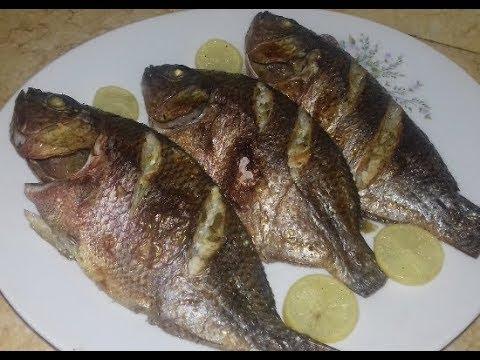 أقلى السمك بمعلقة زيت واحدة وبطريقة صحية وكمان موفرة جدا