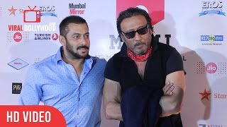 Angry Salman khan & Jackie Shroff | Best Reply to Media | Mami Film Festival