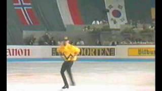 Kurt Browning 1991 Worlds Ex, Charly Brown