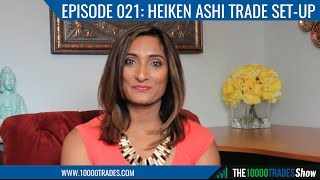 Episode 021: Heiken Ashi Trade Set Up