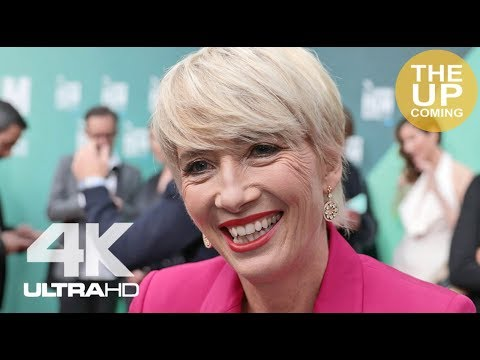 Emma Thompson interview at The Meyerowitz Stories premiere