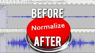 AUDIO TIP: Why you SHOULD BE Normalizing your audio
