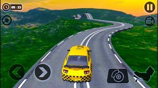 Impossible Taxi Driving Simulator Tracks-Best Android Gameplay HD #4